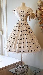 <b>Vintage 50's</b> Dress // <b>1950s</b> Iconic Polka Dot by xtabayvintage ...