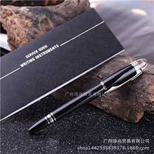 Luxury <b>1pcs Metal</b> Black Rollerball Resin Pen Parker Brand ...