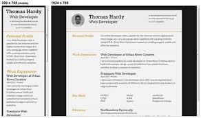 free and responsive website templatesresponsive html css cv template