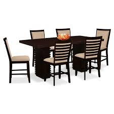 real rustic kitchen table long: paragon counter height table and  chairs camel