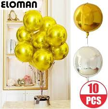 Description Name: 4D Round Pure Foil Balloons Material: Aluminum ...