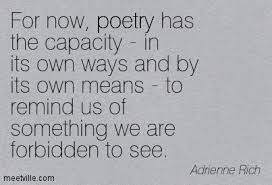 "Adrienne Rich ""Arts of the Possible"" 
