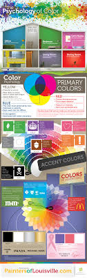 The Psychology of <b>Colors</b>   <b>Daily</b> Infographic