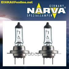 <b>Narva</b> 48339 <b>Лампа</b> галогеновая <b>Narva H7</b> PX26d 12V <b>55W</b> 1шт.