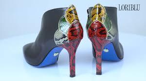 Обзор обуви | <b>Ботильоны LORIBLU</b> 19FW024 - YouTube