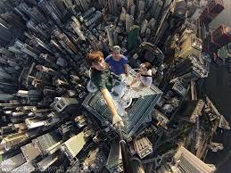 <b>Crazy</b> climbers love selfies in dazzling <b>height</b> |<!-- ab 18935098 ...