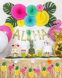 Tropical Party, <b>Luau</b> Party, <b>Hawaiian Party Theme</b>, <b>Summer</b> Party ...