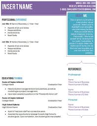 modern resume template for microsoft word    resume templates    items similar to microsoft word document compatible purple teal resume template with cover letter and font instant download beautiful chic standout on etsy