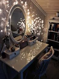 furniture antique white makeup table with oval mirror and lights for sloped ceiling decorating ideas bathroom lighting ideas dress mirror