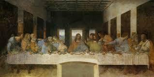 Картина «<b>Тайная вечеря</b>» Леонардо да Винчи. Описание картины