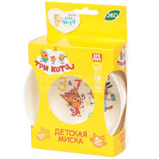 Салатник детский пластиковый <b>Little Angel</b> Три кота LA1222, 430 ...