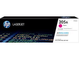 Оригинальный <b>картридж HP</b> LaserJet <b>205A</b>, <b>пурпурный</b> | <b>HP</b> ...