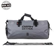 OSAH Motorcycle tail Bag <b>Multi functional Durable Rear Motorcycle</b> ...