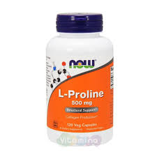 <b>L</b>-<b>Пролин 500 мг</b> 120 капсул - отзывы, цены, купить пролин в ...