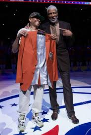 allen iverson s accepts hall of fame jacket while wearing bape the bape x mita sneakers x reebok question mid 1st camo doesn t release until next week but the man himself had it on full display last night