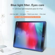 Nillkin Amazing V+ <b>anti blue light tempered glass</b> for Apple iPad 9.7 ...