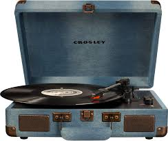 <b>Проигрыватель</b> винила <b>Crosley Cruiser Deluxe</b> Denim [CR8005D ...