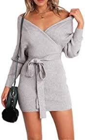 Grey - Dresses / Women: Clothing & Accessories - Amazon.ca