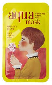 <b>Тканевая антивозрастная маска</b> для лица Frile Tina Aqua Mask 26г