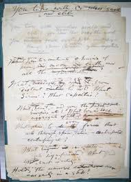 scholarly editing the annual of the association for documentary click on image to enlarge figure 8 recto image manuscript draft of ldquoyou tides ceaseless swell rdquo courtesy of walt whitman house camden nj