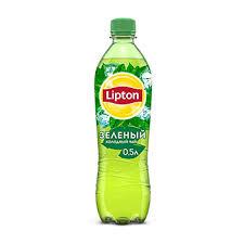 Холодный <b>чай Lipton зеленый</b> 0.5л пластиковая бутылка Россия ...