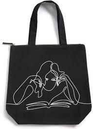 <b>Girl Reading Book</b> Tote | 9780594889052 | Item | Barnes & Noble®