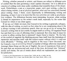 analytical imagination challenge numero uno psychedelicmirrors edward said again on joseph conrad and sigmund freud