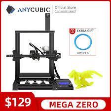 Impresora 3D <b>ANYCUBIC Mega Zero</b> Impresora 3D <b>DIY</b> Kit Full ...