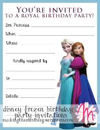 25 disney birthday invitation templates ctsfashion com best photos of disney frozen party invitations template disney disney princesses birthday invitations disney princess birthday