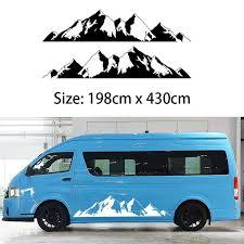 <b>2x Mountain</b> Off Road Camper Van Motorhome Door body <b>Vehicle</b> ...