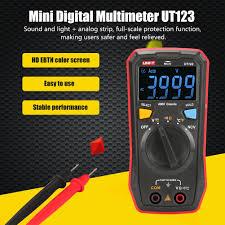 <b>UNI</b>-<b>T UT123</b> Мини цифровой <b>мультиметр</b>; AC DC измеритель ...