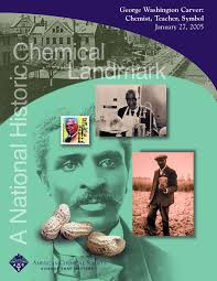 george washington carver american chemical society ldquogeorge washington carver chemist teacher symbolrdquo commemorative booklet ldquo