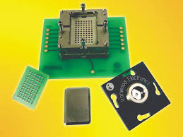 connectors and sockets electronic products bga test socket features precise ball to pin alignment