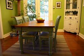 Colored Dining Room Sets 1000 Images About Painted Tables On Pinterest Dining Room