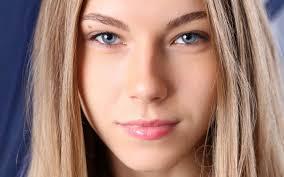 Обои глаза, eyes, лица, faces, блондинки, blondes, женщины, голубые глаза, blue eyes, Krystal Бойд, close-up, women, Krystal Boyd, крупный план 2560x1600 ... - luxfon.com-21423