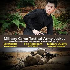 Stealth <b>Military Jacket Men</b> Waterpoof Camo Clothes Tactical ...