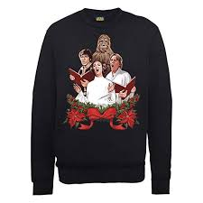 <b>Star Wars Men's</b> Chrismas Jedi Carols Sweatshirt: Amazon.co.uk ...