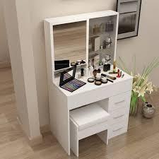 Coiffeuse moderne coréen simple avec un miroir de <b>toilette</b> de table ...
