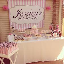 High Tea Kitchen Tea My Kitchen Tea Bridal Shower Candy Buffet Wedding Inspiration