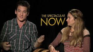 the spectacular now interviews shailene woodley and miles teller the spectacular now interviews shailene woodley and miles teller sit down andrew freund