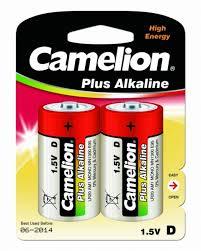 <b>Батарейка</b> щелочная LR20 (<b>D</b>. 373) 1.5В (уп.=2 шт.) <b>CAMELION</b> ...