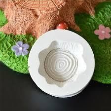 <b>2pcs</b> Tree Stump Texture Line Fondant Cake Mold <b>Food Grade</b> ...