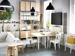 organize a home interior large size wooden home office design furniture wood desk u shaped modern design how awesome organize office