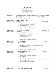 machinist resume template computer operator sample machinist    forklift operator resume wapitibowmen resume forklift operator resume examples