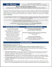 career transition resume for marketing and events management    career transition resume for marketing and events management   resume results