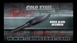 <b>Нож Cold Steel</b> Bowie Blade <b>Bushman</b> 95BBUSK купить по цене 2 ...