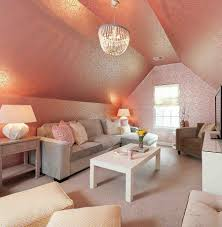 Orange Bedroom Wallpaper 20 Classy And Cheerful Pink Living Rooms