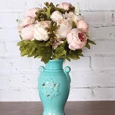 Искусственный <b>Букет</b> пионов свадебные <b>декоративные цветы</b> ...