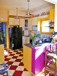 yellow kitchen dp kelly eclectic blend natural woods with painted surfaces
