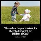 Bible, Jesus in Matthew 5:9